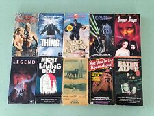 Terrifying Lot of RARE Vintage VHS Fantasy, Horror, & Sci-fi Movies