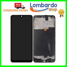 DISPLAY LCD PARI ORIGINALE SAMSUNG GALAXY  A10 SM A105F TOUCH SCREEN CON FRAME