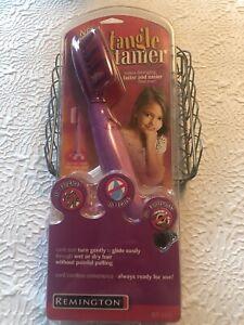 Remington Hair Detangler Electric & Cordless Tangle Tamer Wet/ Dry Hair - DT-800