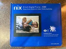 Nix X08E 8 Inch Motion Digital Photo Frame - Never Used Still in original Box