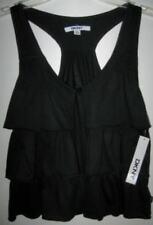 DKNY Girls Black Ruffled Vest (M) NWT