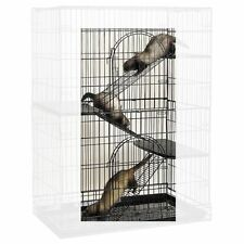 Small Animal Pet Steel Ramp Conversion 3 Piece Kit for Cages Cat Bird Ferret