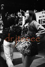 1970 NCAA'S NOTRE DAME Cheerleader - 35mm Basketball Negative