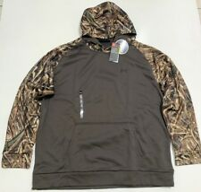 UNDER ARMOUR MEN'S 3XL COLDGEAR CAMO HUNT  HOODIE NWT