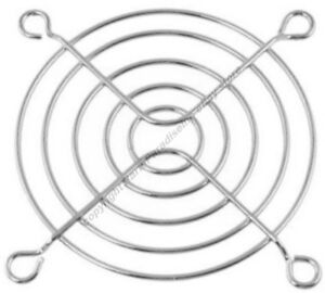 "Lot10 70mm/2.75""inch/7cm Metal Wire Box/CPU Fan Grill/Finger Guard{SILVER/CHROME"