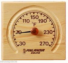 Free Shipping! Pine Thermometer w/Carved Groove, sauna accessories, saunas