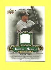 FRANK THOMAS 2009 A PIECE OF HISTORY TIMELESS MOMENTS TM-FT