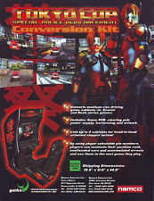 Namco Tokyo Cop Original Nos Video Arcade Game Flyer Brochure