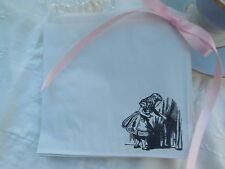 25 Handstamped Alice in wonderland  Sweet Bags - Sweet Cart / Parties
