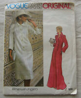 Vintage Dress Sewing Pattern*Vogue 1235*Size 12*Cut/Complete*long loose caftan