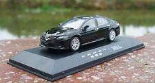 1:43 Toyota Camry 2018 Black Diecast Car Model