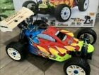 OFNA Ultra LX Comp 1/8 .26  Nitro Buggy 4x4 installed stronger front suspension