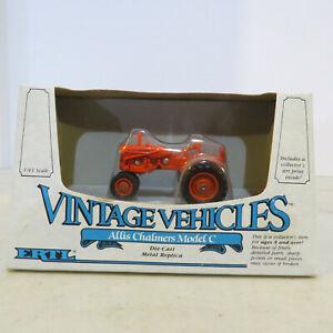 """Ertl Allis Chalmers """"C"""" Tractor VintageVehicle 1/43 AC-2529-1HEO-B"""