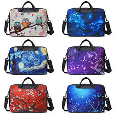 "15.6"" Inch Canvas Laptop Notebook Computer Bag Briefcase bag With Shoulder Strap"