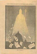 Testament Will Lateran Treaty Pape Pope Papa Pio Pius Pie XI 1939 ILLUSTRATION