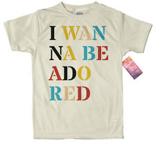I Wanna Be Adored T shirt Artwork, The Stone Roses Inspired