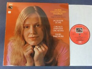 ED1 DVORAK - CELLO CONCERTO etc LP, Jacqueline Du Pre, Barenboim, EMI ASD 2751
