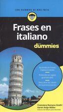 FRASES EN ITALIANO PARA DUMMIES. NUEVO. Nacional URGENTE/Internac. económico. AU