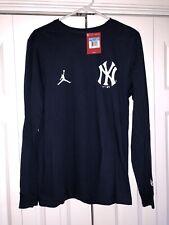 Nike Air Jordan Derek Jeter Yankees RE2PECT Retirement Shirt Size Medium M New