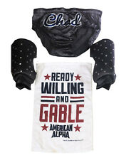 WWE CHAD GABLE RING WORN HAND SIGNED WRESTLING GEAR WITH PHOTO PROOF AND COA 6