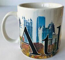 Atlanta Coffee Mug Americaware Large 18 oz Full Color Relief 2012 Georgia USA