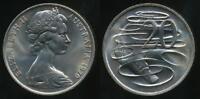 Australia, 1970(c) Twenty Cents, 20c, Elizabeth II - Uncirculated