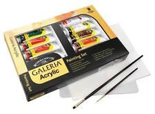 Winsor & Newton Galeria Acrylic Complete Painting Set inc Paint, Brushes, Board
