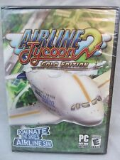 Airline Tycoon 2: Golden Edition Airline SIM for PC Game  DVD-ROM New & Sealed