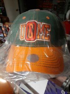 John Cena Orange and Green 15X U Can't See Me Baseball Cap Hat New