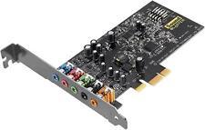 Creative Blaster Audigy FX 5.1 PCIe Soundkarte mit SBX Pro Studio 106db 600 ωamp