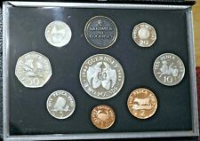 More details for 1985 guernsey - 9 coin boxed set