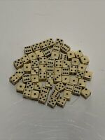 Dicecapades Game Replacement Parts 59 Dice 6 Sided Ivory