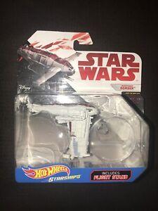 Hot Wheels Star Wars Die Cast Resistance Bomber Starships 2016