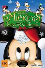 Mickey's Twice Upon A Christmas -DVD VERY GOOD CONDITION REGION 4 FREE POST AUS