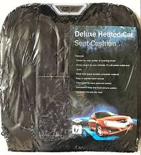 Deluxe Heated Universal Car Seat Cushion 12V - NEW