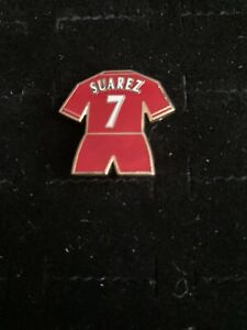 liverpool Fc Kit Badge Suarez No7