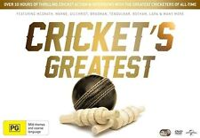 Sports Region Code 4 (AU, NZ, Latin America...) PG Rated Cricket DVDs & Blu-ray Discs