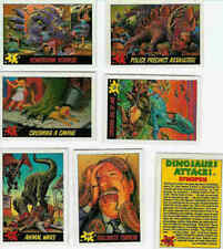 Topps Dinosaurs Attack! complete set with stickers and wrapper