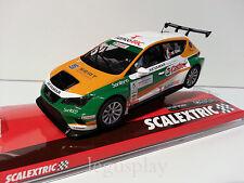 "Slot SCX Scalextric A10205S300 Seat León Eurocup ""Castrol"" M.Giao Nº5"