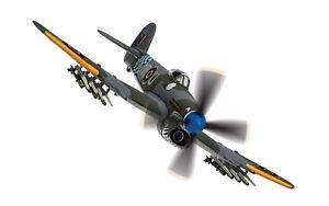 Corgi AA36513 1/72 Hawker Typhoon Mk I Raf No.245 'Sharkmouth' 1944