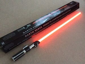 Star Wars Official Master Replicas Darth Vader Force FX Lightsaber Collectible