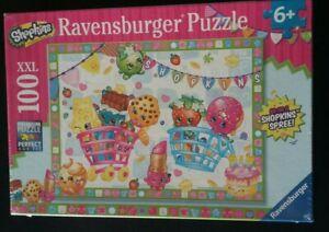 Shopkins Ravensburger Jigsaw Puzzle 100 XXL Pieces. Shopkins Spree. New Sealed.