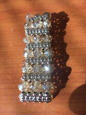 Gold Beaded Elastic Bracelet <T10791