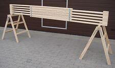 Gerüstbohle,  Bohle aus Holz, ausziehbar von 2,10 m auf 3,60 m