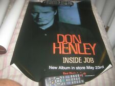 Don Henley-Inside Job-1 Poster-18X24 Inches-Nmint-Rare!