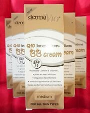 10 x50ml Derma V10 BB Cream Medium Caffeine Vitamin C SPF 15 All Skin Types