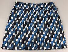 TAIL White Label Womens Small Skort Pocket Tennis Golf Viper Blue Black White