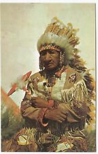 Old Indian Chief PPC, Unposted, Plastichrome, By Colourpicture