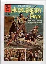 Dell Four Color #1114 The Adventures of Huckleberry Finn 1960 Vg Vintage Comic