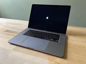 """Apple MacBook Pro 16"""" 8-core i9 32GB RAM 2TB SSD 4GB GPU"""
